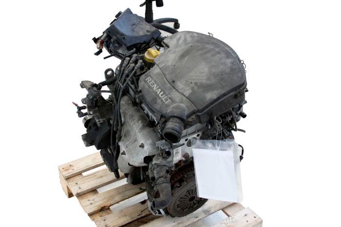 Motor Completo K7m Renault Logan Expression 1.6 / 8v Ano 2011