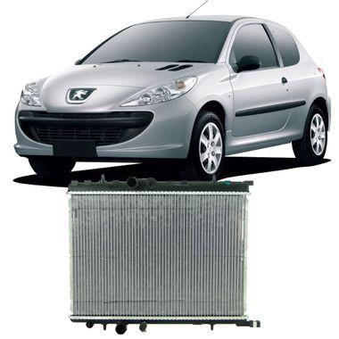 Radiador-Peugeot-206-e-207-2001-a-2012-Brasado-Com-Reservatorio